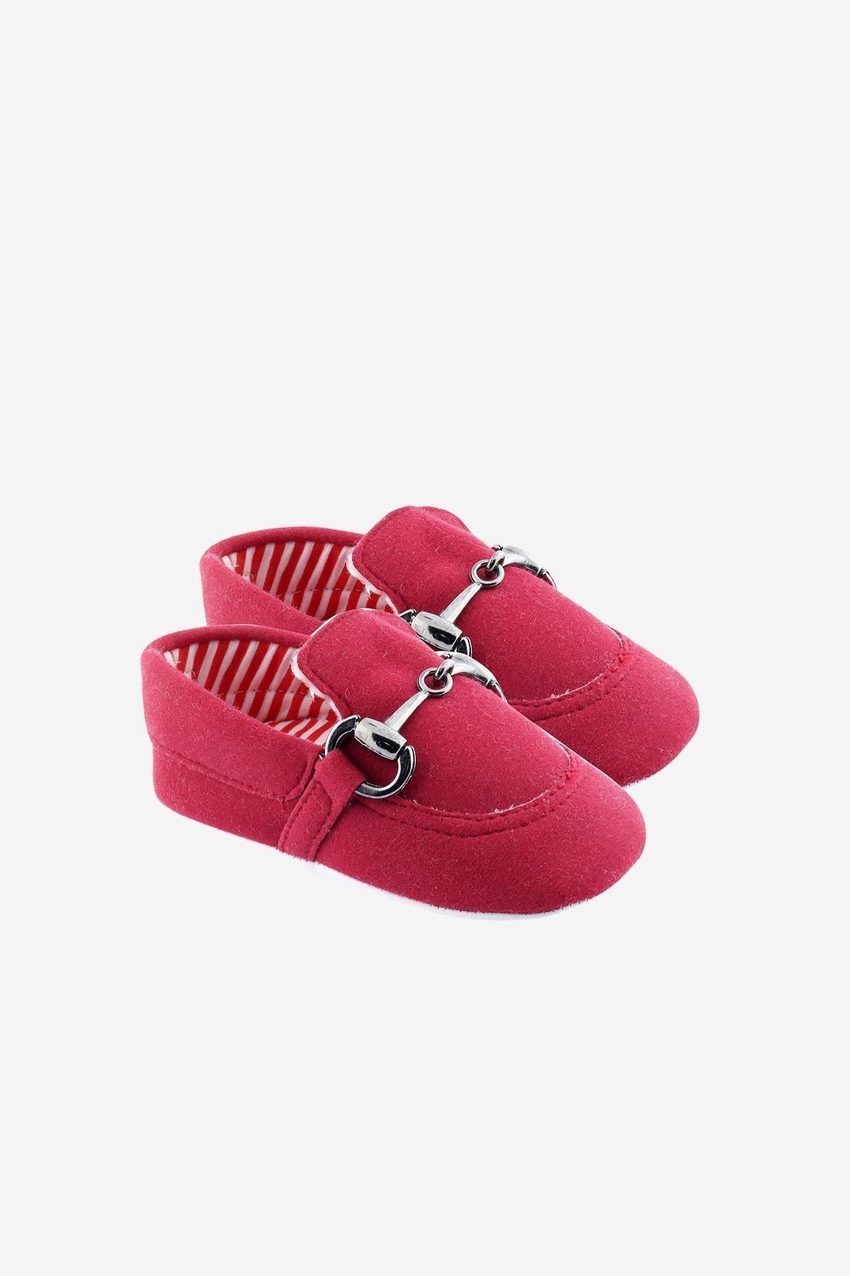 Funny Baby Damatlık Tokalı Bebek Ayakkabısı 1