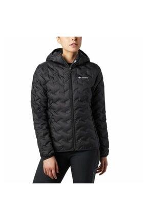 Columbia Wk0260-010 Delta Ridge Down Hooded Jacket Kadın Mont