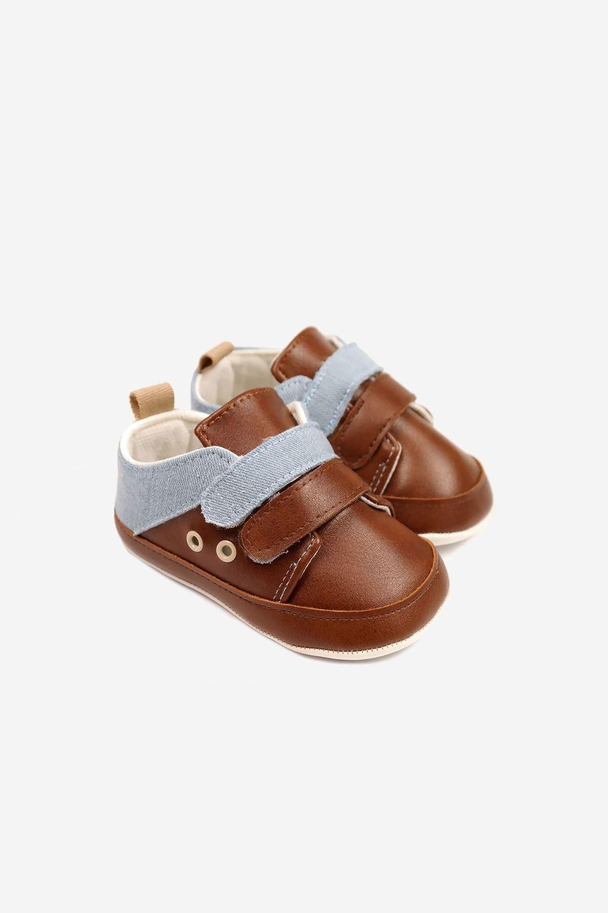 Funny Baby Çift Cırtlı Bebek Ayakkabısı 1