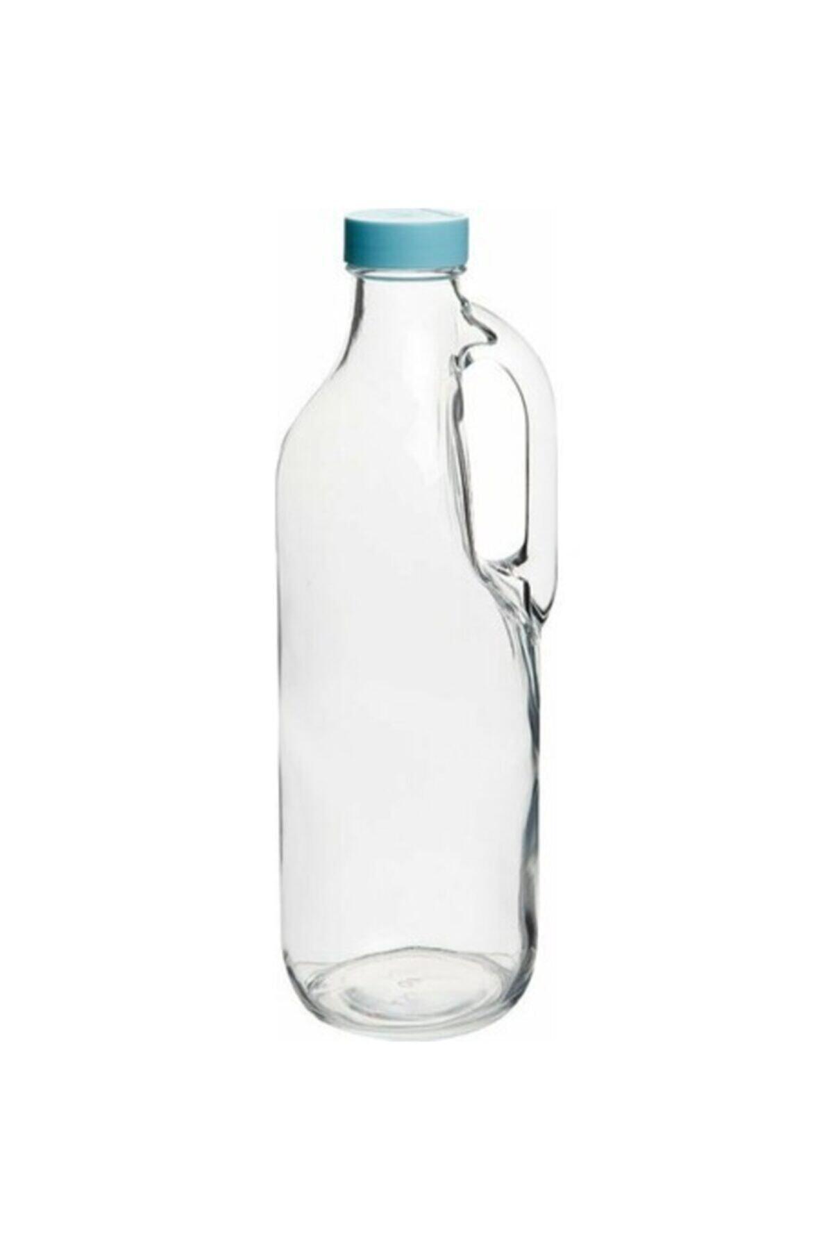 Paşabahçe Vida Kapaklı Kulplu Cam Şişe 1400 Cc Süt Şişesi 80342 1