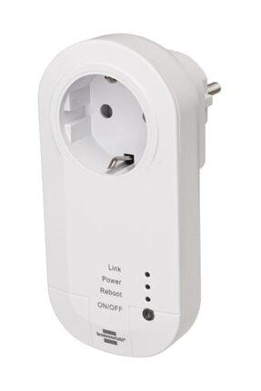 Brennenstuhl Wifi Özellikli Zaman Ayarlı Ses Kontrollü 433 mhz Vericili Akıllı Priz 3600 Lrf01 433