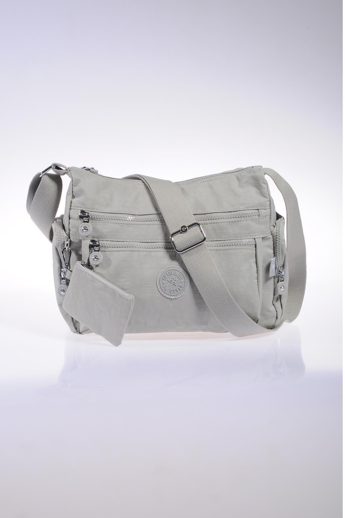 SMART BAGS Smb1115-0083 Ice Gri Kadın Çapraz Çanta 1