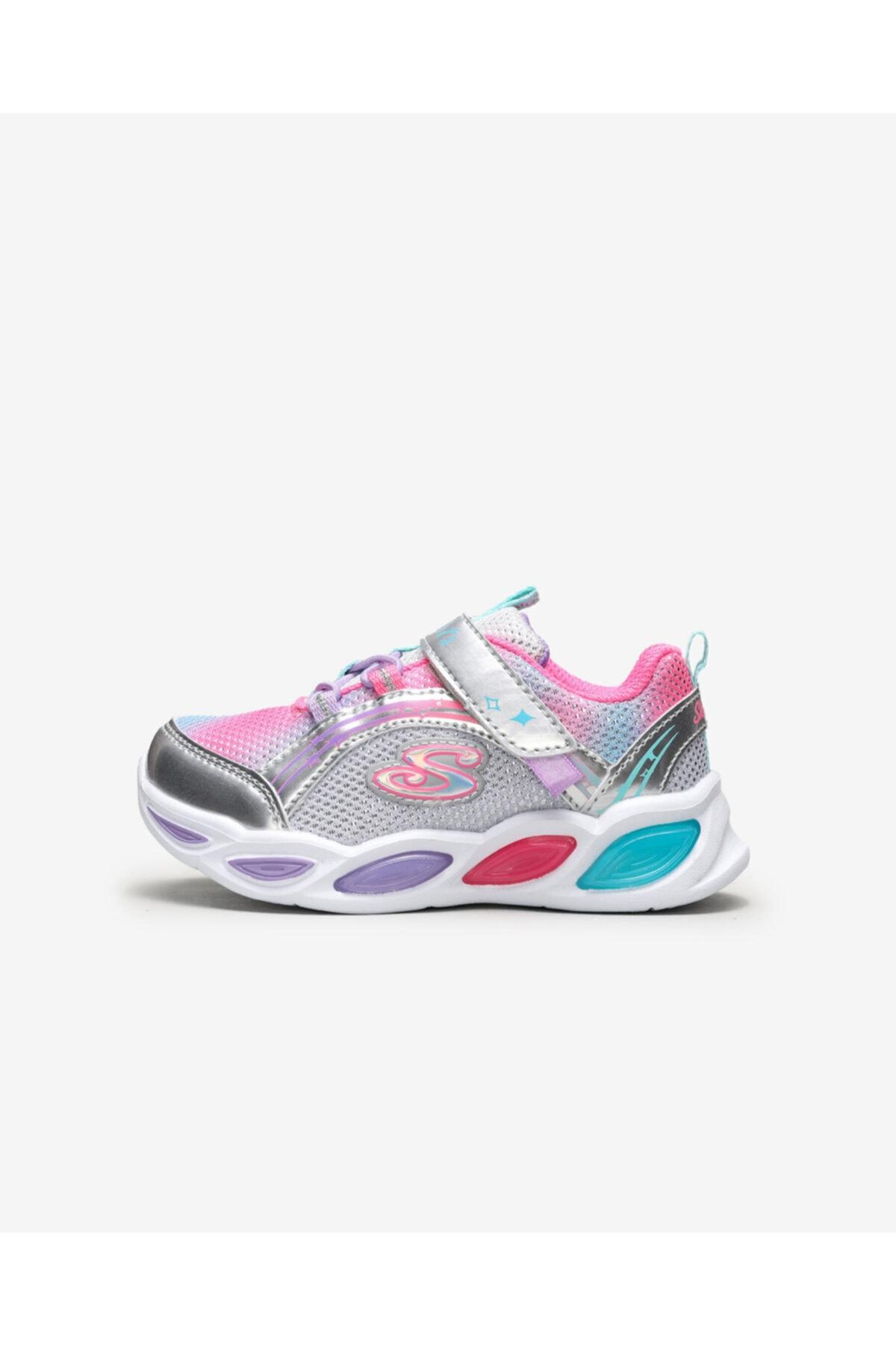 SKECHERS SHIMMER BEAMS - Küçük Kız Çocuk Gri Spor Ayakkabı 1