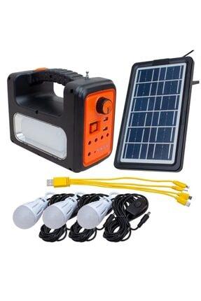 ataşbey Süper Solar Panelli Mp3 Radyo Işıldak Kamp Fener Aydınlatma Rt-902