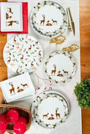 Porland Kış Masalı 18 Parça 6 Kişilik Kahvaltı Ve Servis Takımı