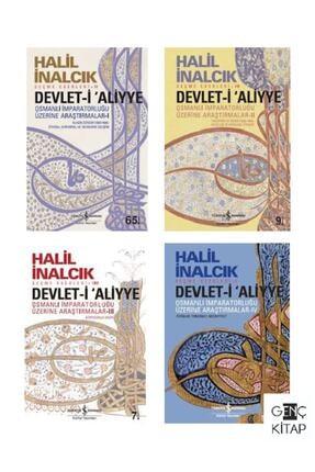 İş Bankası Kültür Yayınları Devleti Aliyye 4 Kitap Set Halil Inalcık Iş Bankası Yayınları