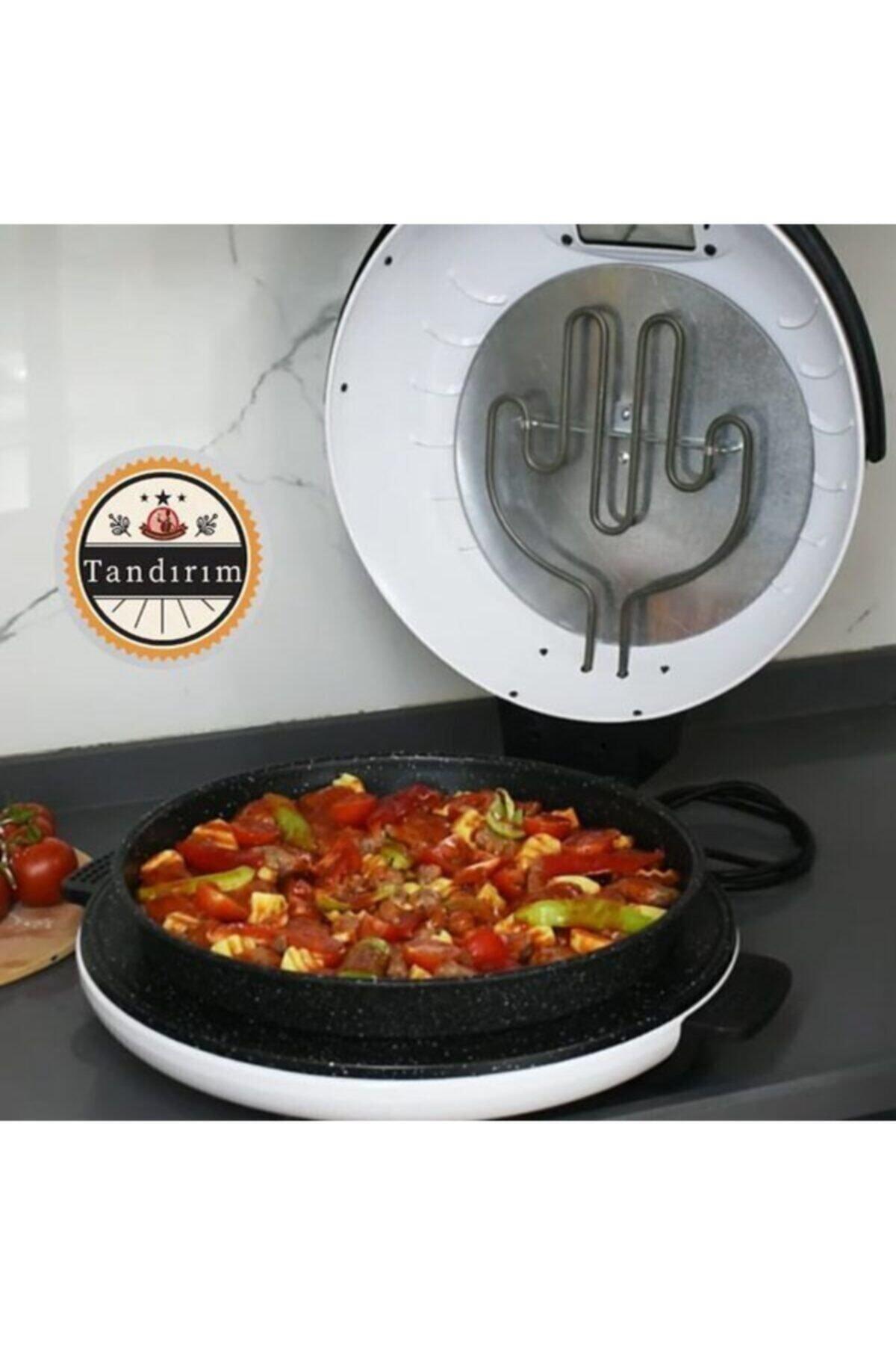 Apex Tandırım Izgara Pizza Lahmacun Ekmek Pişirme Makinesi Siyah 2