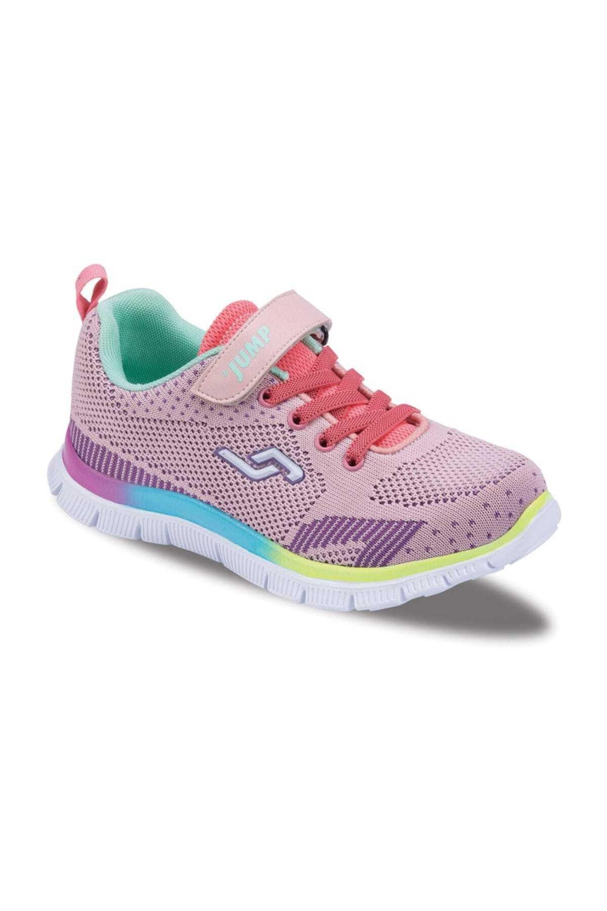 Jump Somon Pembe Kız Çocuk Ayakkabı 190 21251F 1