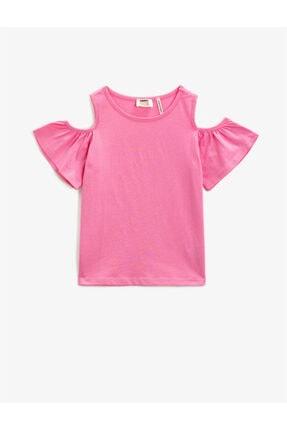 Koton Kız Çocuk Pembe T-Shirt
