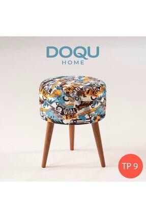 Doqu Home Trio Dekoratif Puf Tp9