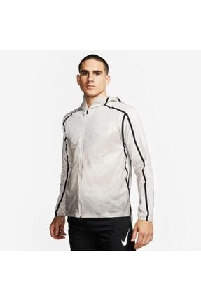 Nike Erkek Tech Pack Repel Koşu Beyaz Hafif Ceket