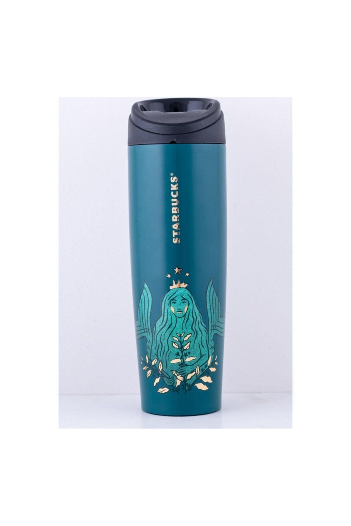 Starbucks Unisex Yeşil 50. Yıl Özel Seri Termos 473 ml 1