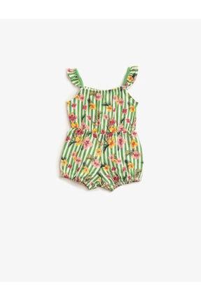 Koton Kız Çocuk Sarı Elbise