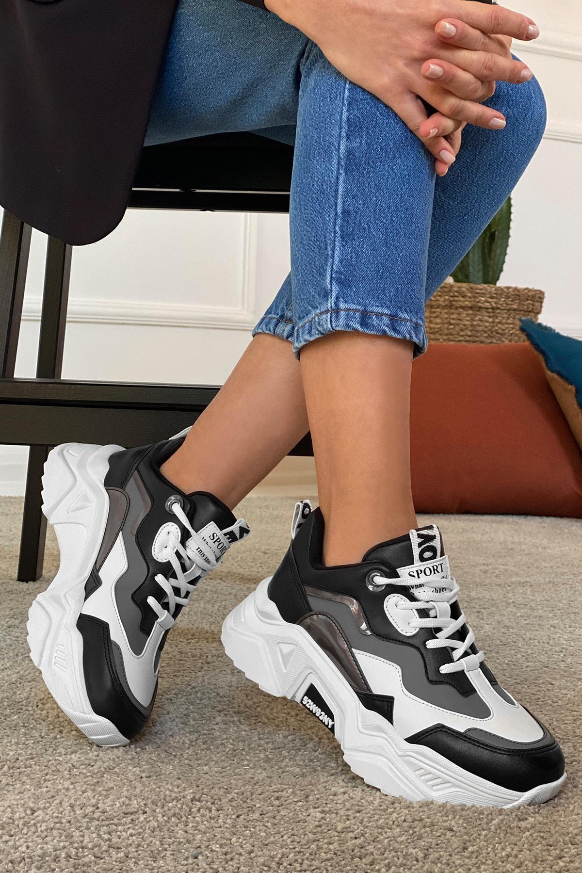 DARK SEER Siyah Füme Kadın Sneaker 1