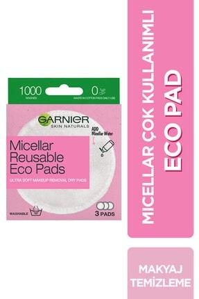 Garnier Micellar Çok Kullanımlı Eco Pad – 3'lü Makyaj Temizleme Pedi
