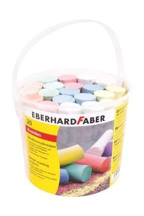 Eberhard Faber Sokak İşaretleme Tebeşiri 6 Renk 20 Adet Kova