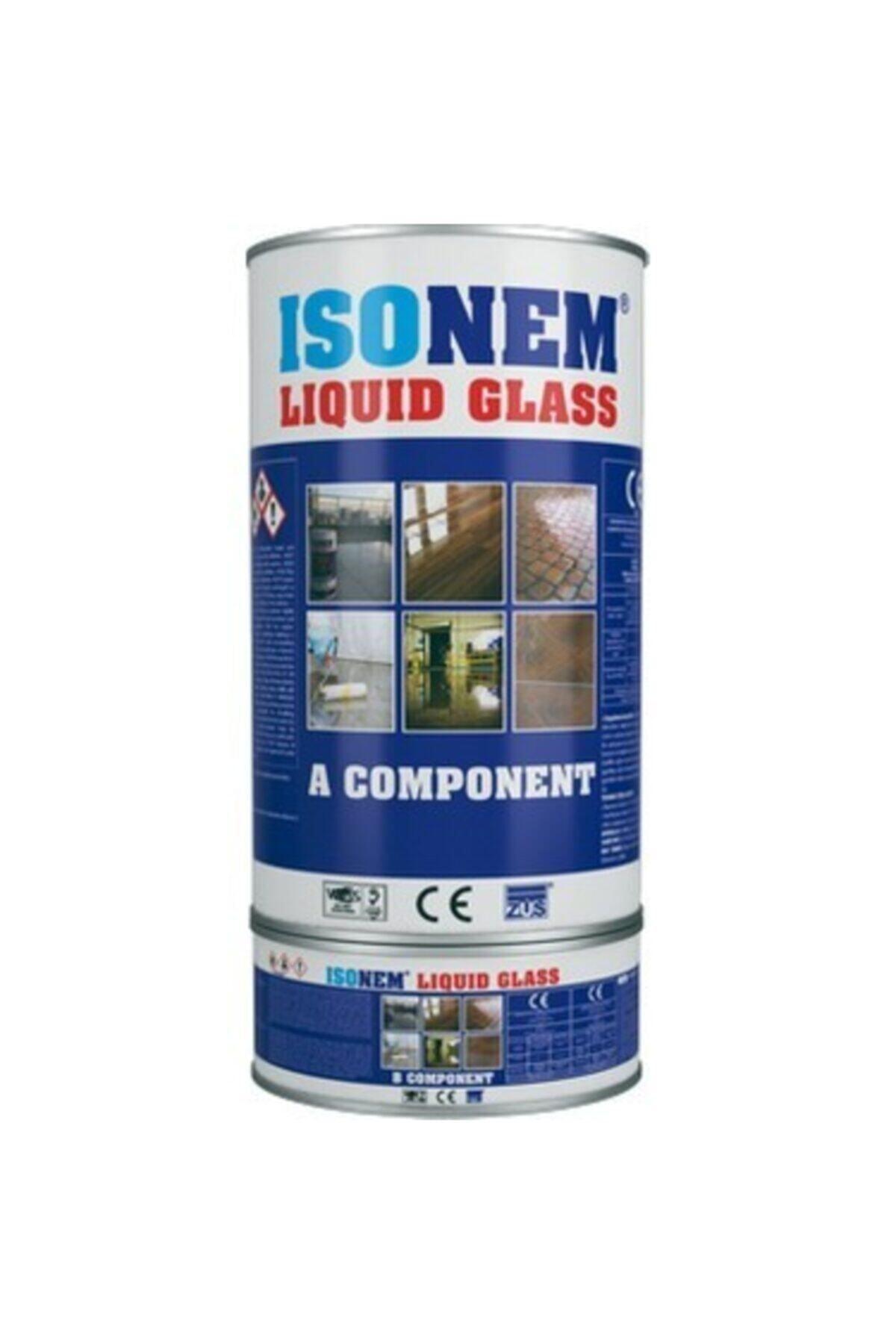 Isonem Liquid Glass Sıvı Cam Şeffaf Ve Parlak Su Yalıtımı 2 Kg 1