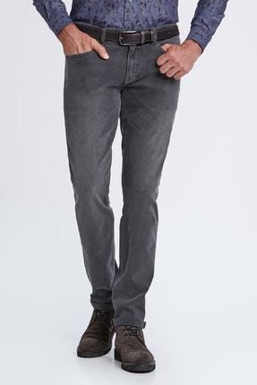 Hemington Erkek Gri Denim Pantolon