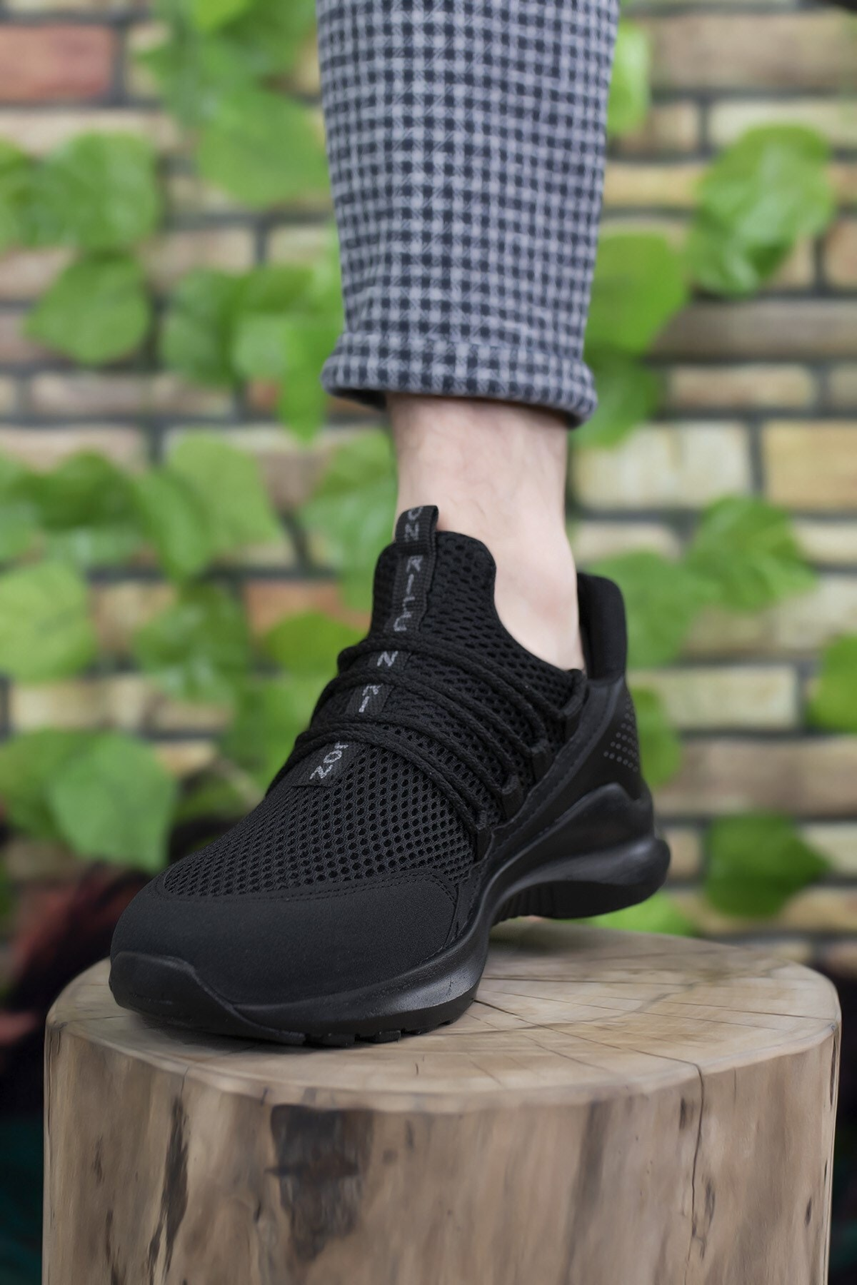 Riccon Erkek Siyah  Sneaker 0012180 1
