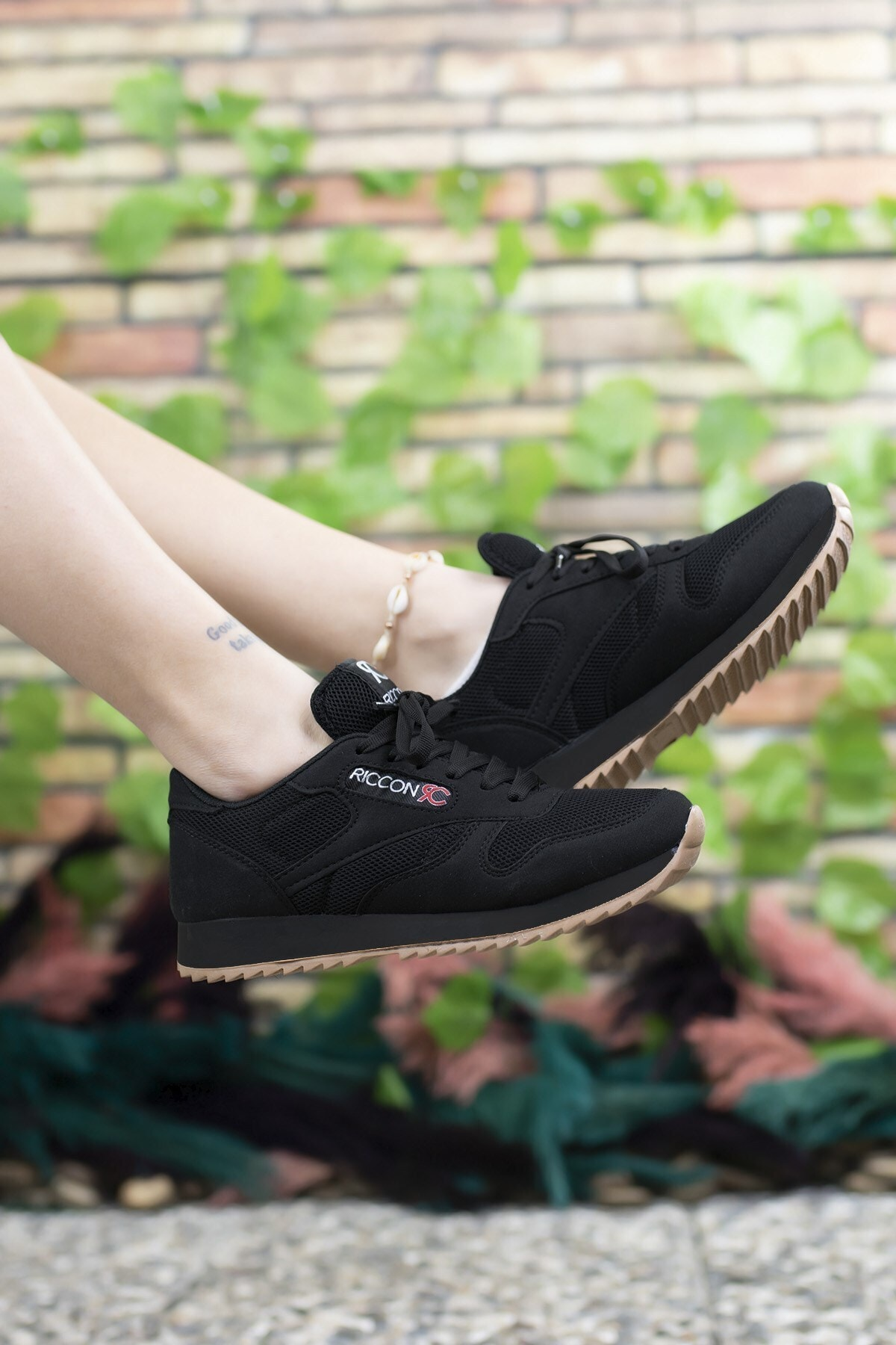 Riccon Siyah Siyah Unisex Sneaker 00121057 2