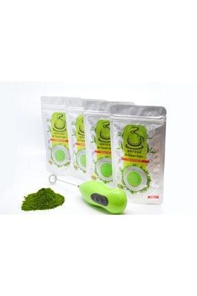 Karadeniz Matcha 4 Paket Matcha Çayı + Ücretsiz Elektronik Mikser + 2 Adet Pil
