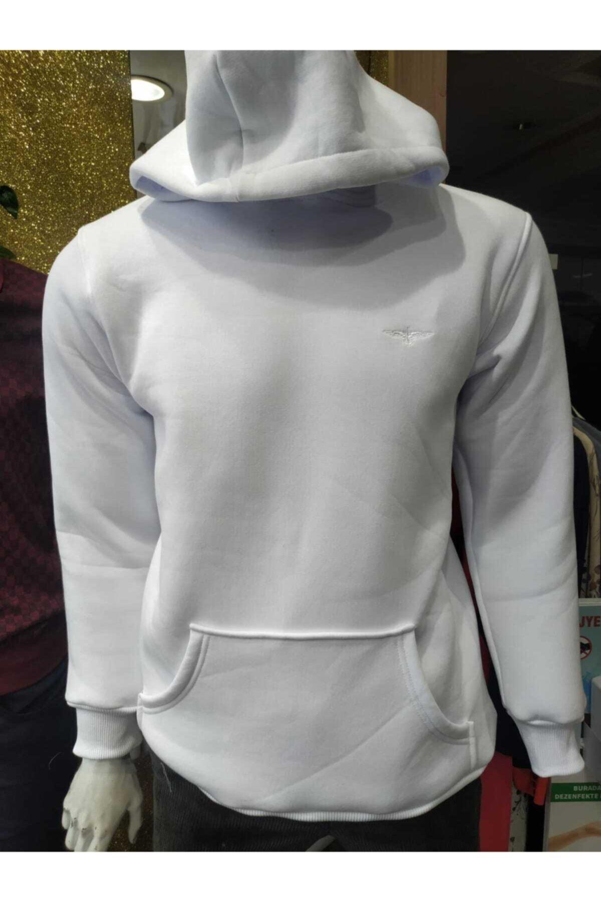 EREN Unisex Kapüşonlu Kanguru Cepli Sweatshirt 2
