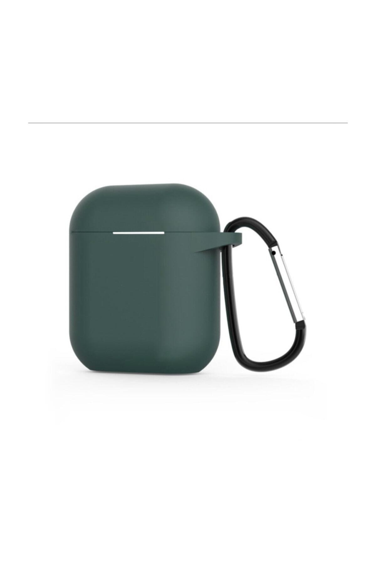 Mopal Apple Airpods 1-2 Nesil Kancalı Kulaklık Kılıfı 1