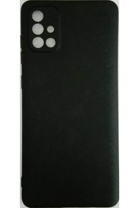 Sunix Samsunggalaxy A71 Kamera Korumalı Ultra Ince Silikon Kılıf Siyah