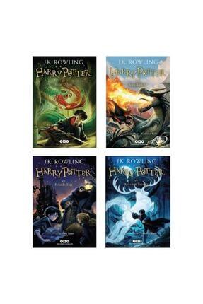 Yapı Kredi Yayınları Harry Potter 1-2-3-4 Set Ilk 4 Kitap