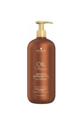 SCHWARZKOPF HAIR MASCARA Oil Ultime Argan Barbary Fig Şampuan 1000ml