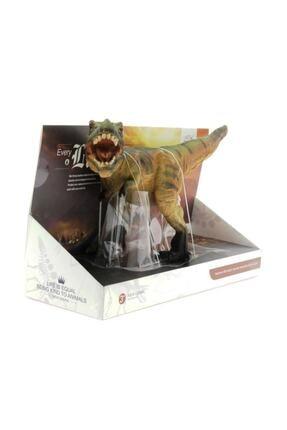 MEGA Yumuşak Plastik Kahverengi Dinozor Figür T-rex