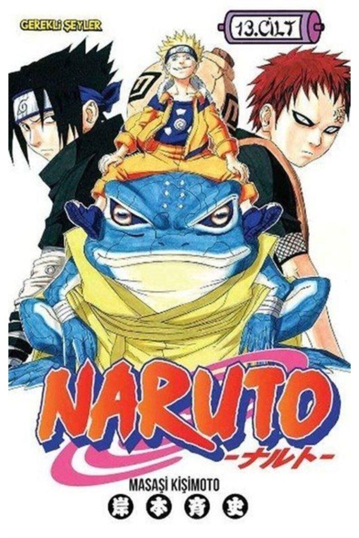 Gerekli Şeyler Yayıncılık Naruto 13. Cilt 1