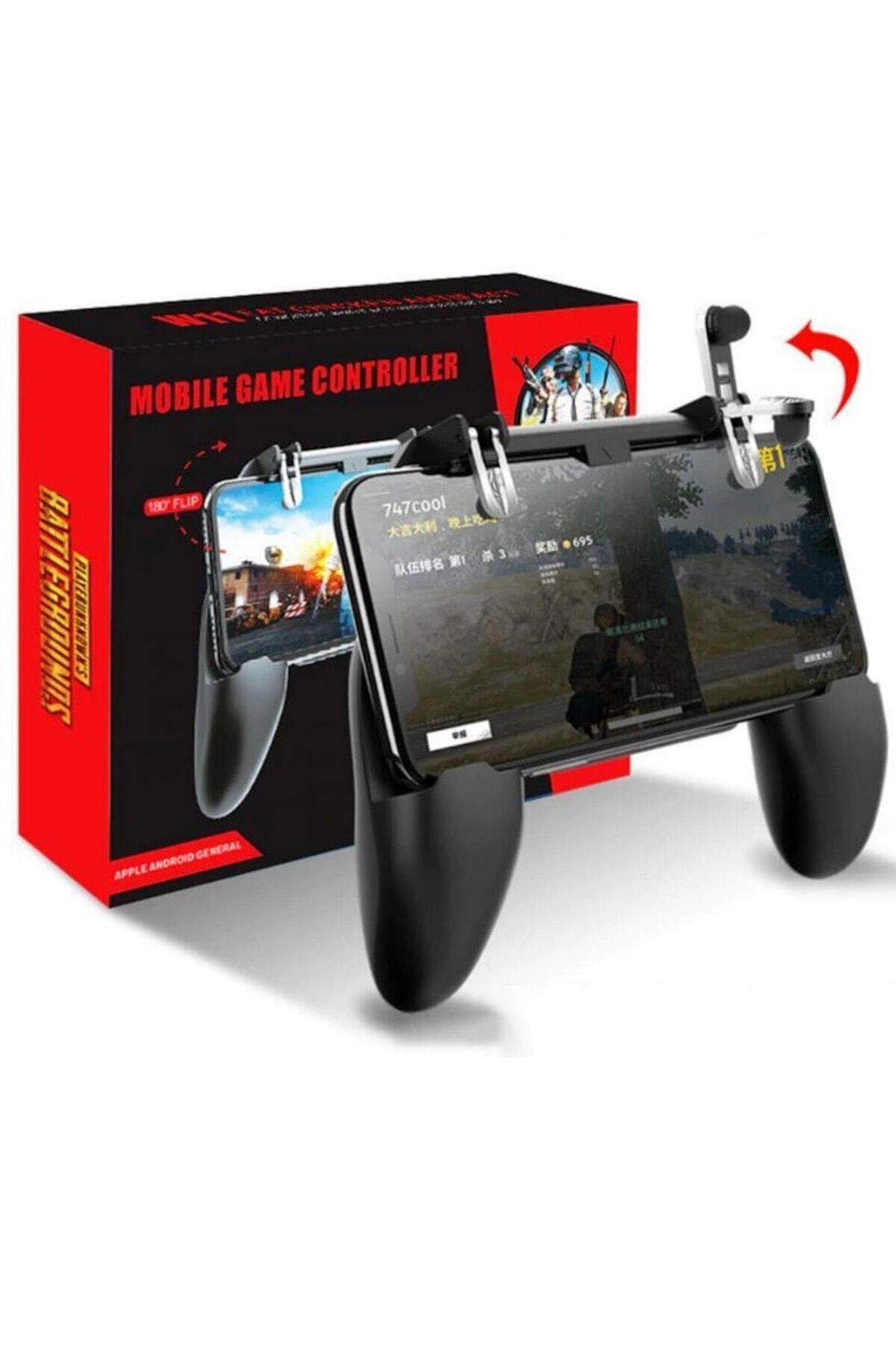 BaykalElektronik Pubg Gamepad Metal Tetik W10 Joystick Oyun Konsol Ateş Düğme L1 R1 Aparatı 1