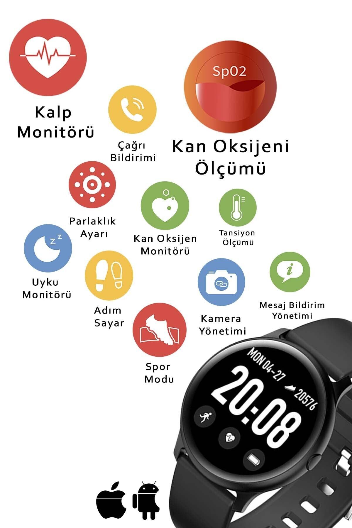 Daniel Klein Akıllı Saat Siyah Oval 2