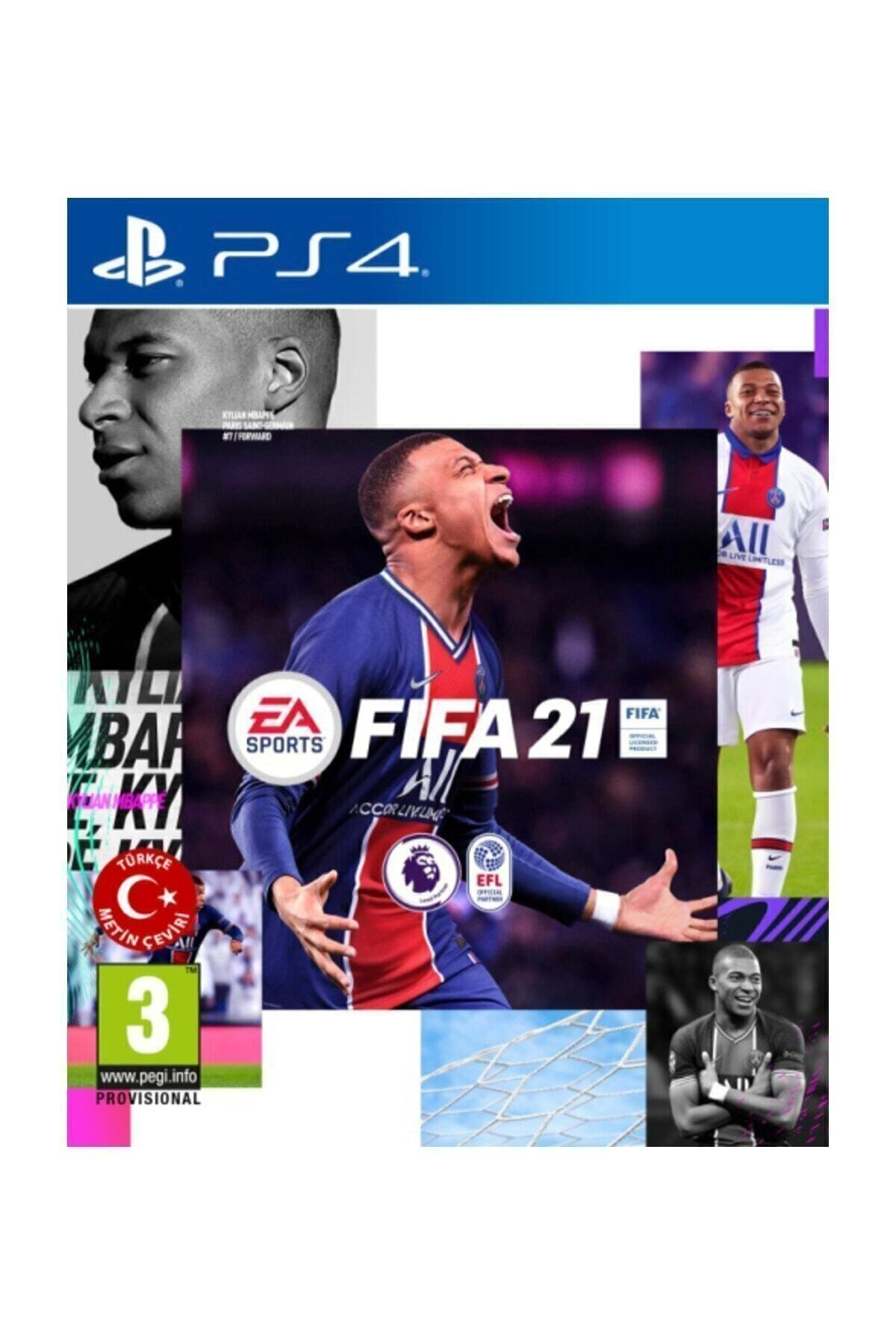Electronic Arts Fifa 2021 PS4 Oyun - Türkçe Menü 1