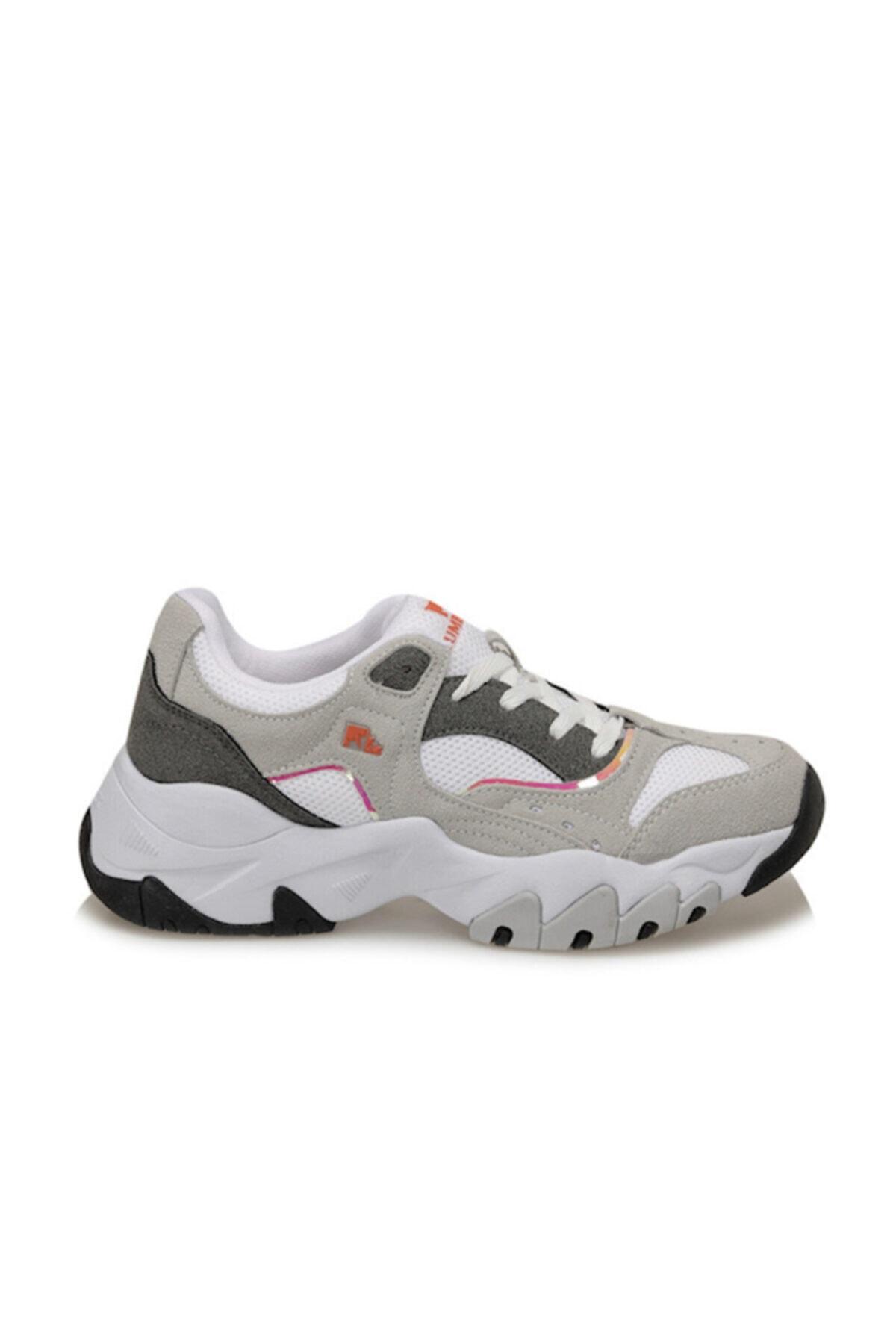 lumberjack Kadın Beyaz Topuklu Sneaker Ayakkabı Regına 2