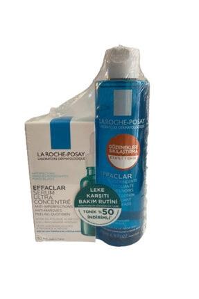 La Roche Posay Effaclar Günlük Peeling Etkili Serum 30ml + Effaclar Sıkılaştırıcı Tonik 200ml