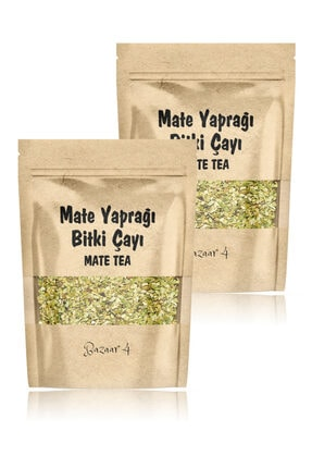 BAZAAR 4 Mate Yaprağı Çayı 2 X 125 Gr Mate Tea 1. Sınıf Yeni Mahsul