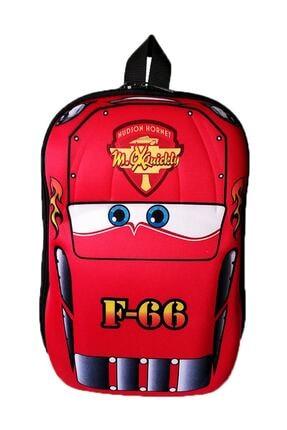 Las Vegas Polo Club Cars Şimşek Mcqueen Anaokulu Çocuk Sırt Çantası 3-6 Yaş 5d Kabuk F66 Araba
