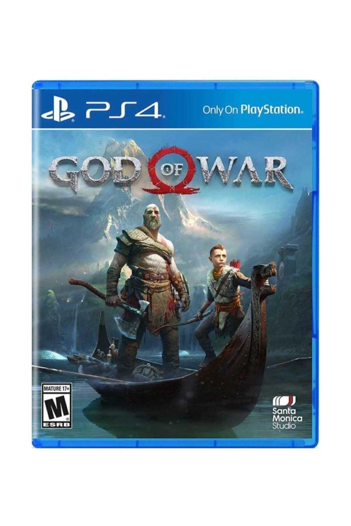 Santo Monica Studio God Of War Türkçe Altyazılı Ps4 Oyun 1