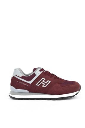 Hammer Jack , Hakiki Deri Erkek Ayakkabı 111303 10219253m Bordo