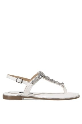 Nine West ZULI 1FX Beyaz Kadın Sandalet 101011726