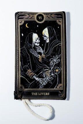 EFBUTİK The Lovers Iskelet Bez Kalemlik Cüzdan
