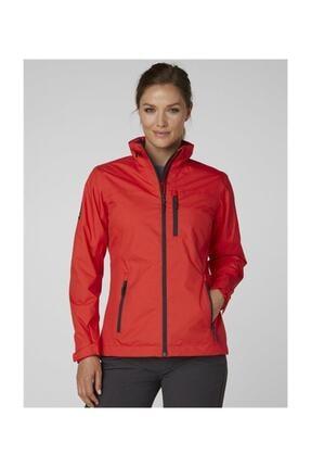 Helly Hansen W Crew Midlayer Kadın Kırmızı Ceket