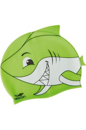 Lescon La-2217 Yeşil Silikon Bone Çocuk Köpekbalığı
