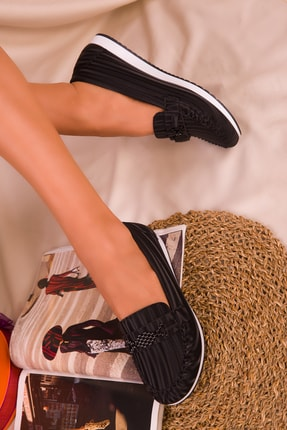 SOHO Siyah Kadın Casual Ayakkabı 16063
