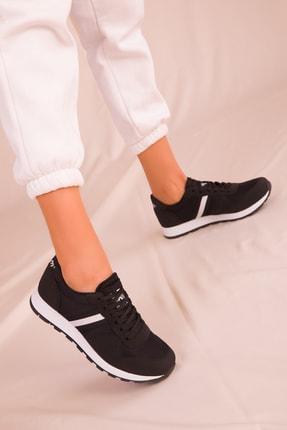 SOHO Siyah Kadın Sneaker 15277