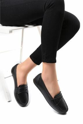 Beyond Kadın Siyah Kolej Günlük Casual Babet Ayakkabı