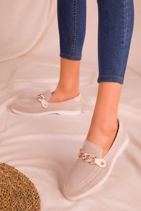SOHO Bej Kadın Casual Ayakkabı 16108