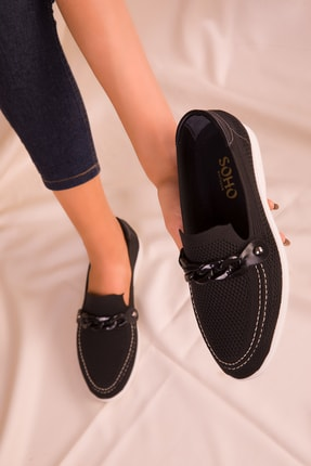 SOHO Siyah Kadın Casual Ayakkabı 16108
